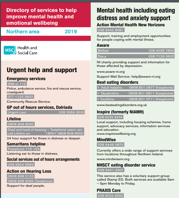 Organisations That Can Help